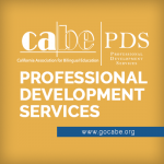 <b>CABE PROFESSIONAL DEVELOPMENT SERVICES CONSULTANT POSITION</b>