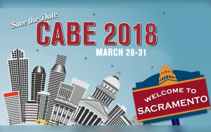 <b>CABE 2018 at Sacramento, CA</b> @ Sacramento Convention Center | Sacramento | California | United States