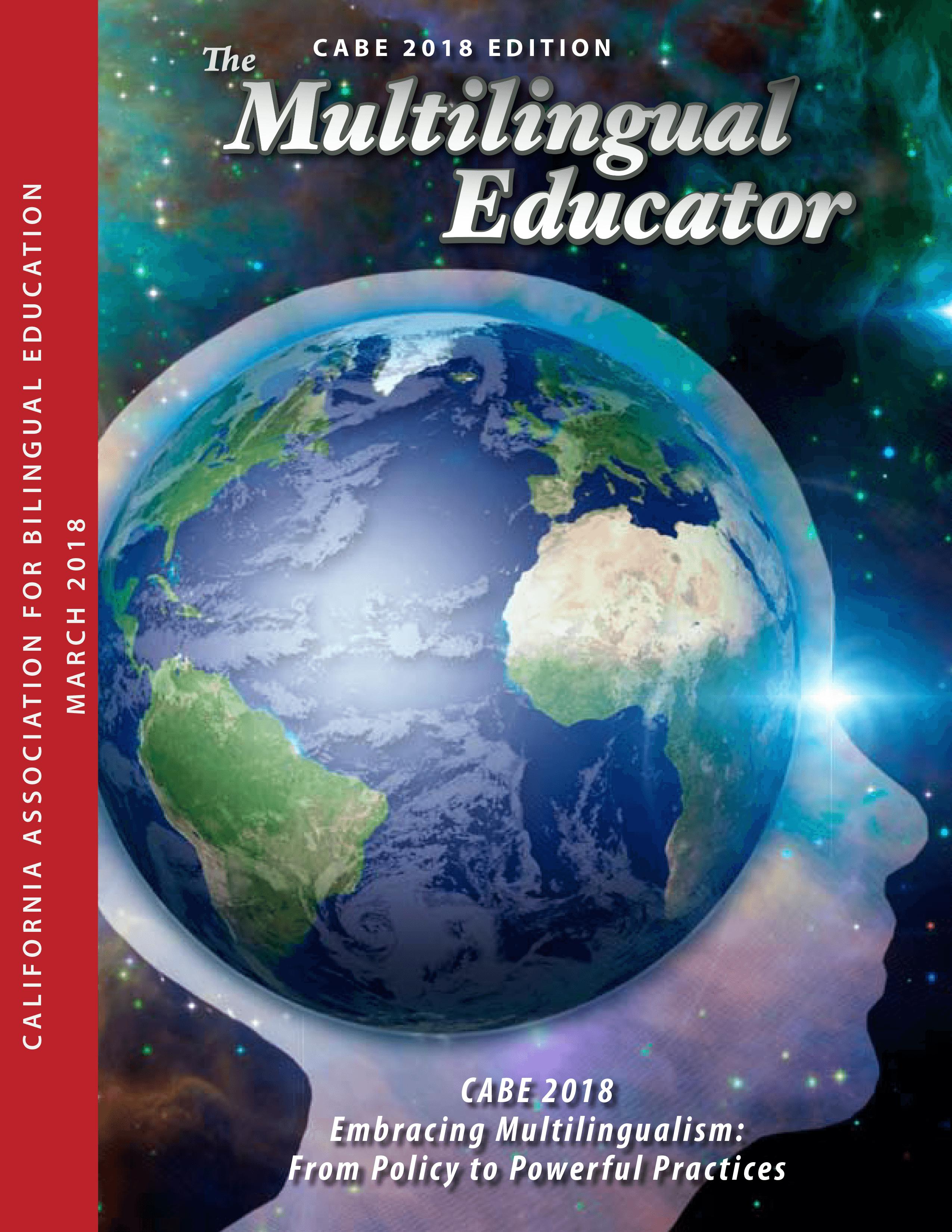 Multilingual Educator 2018W-Cover