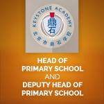 <b>KEYSTONE ACADEMY BEIJING, CHINA, HEAD OF PRIMARY SCHOOL AND DEPUTY HEAD OF PRIMARY SCHOOL (TWO ROLES)</b>