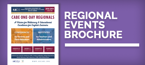 CABE Regional 2018-2019 Brochure