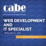 <b>CABE WEB DEVELOPMENT &#038; INFORMATION TECHNOLOGY SPECIALIST (FULL-TIME)</b>