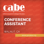 <b>CABE FULL-TIME CONFERENCE ASSISTANT</b>