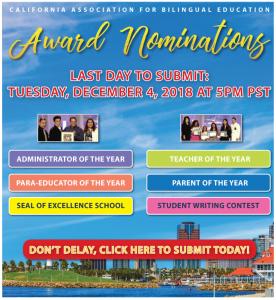 CABE 2019 Award nominations