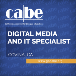 <b>CABE DIGITAL MEDIA AND IT SPECIALIST (FULL-TIME)</b>