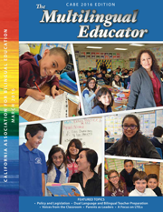 2016 Multilingual Educator Magazine