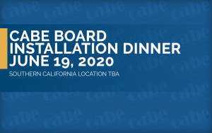<b>BOARD INSTALLATION DINNER</b> @ Walnut | California | United States