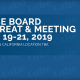 Ad announcing Board of Director's meeting in September