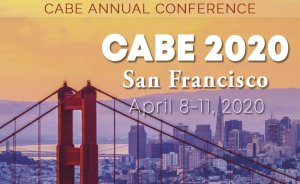 <b>CABE 2020 - ANNUAL CONFERENCE</b> @ Hilton San Francisco Union Square and Parc 55 Hotel