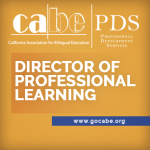 <b>CABE DIRECTOR OF PROFESSIONAL LEARNING POSITION</b>