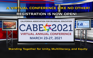 CABE 2021 - CABE's Annual Conference @ Zoom