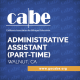 Tile with Name of CABE job opening which is Administrative Assistant (Part-Time)